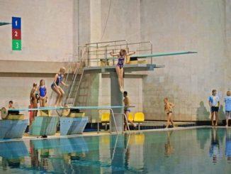 Прыжки в воду, Водолей
