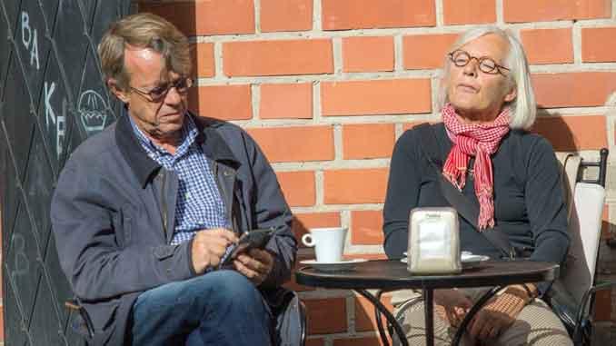 немецкие пенсионеры
