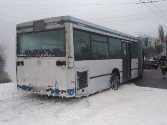 Николаев, автовокзал, пожар, автобус №83