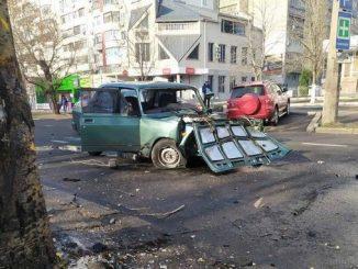 Николаев, ДТП, Центральный проспект
