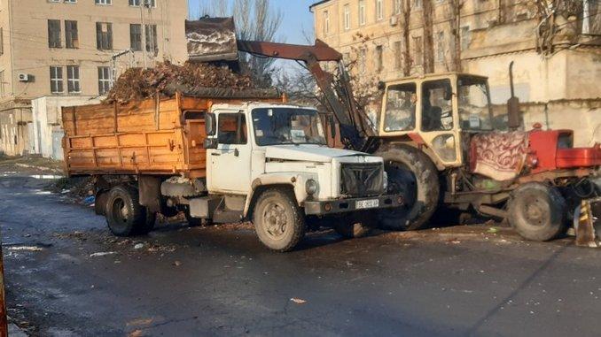 Николаев, Заводский район, мусор