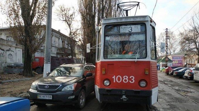 Николаев, трамвай, Лексус