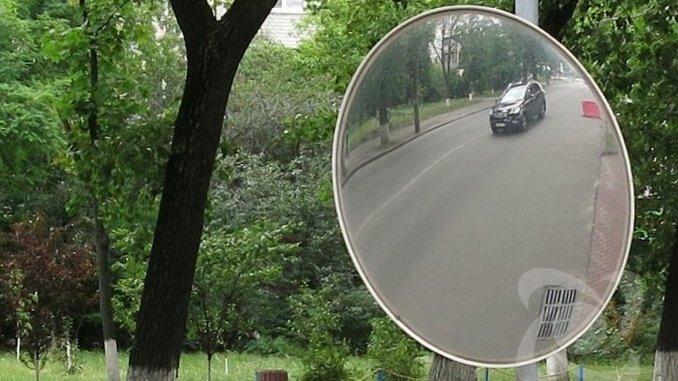 Николаев, полиция, депутаты, зеркала