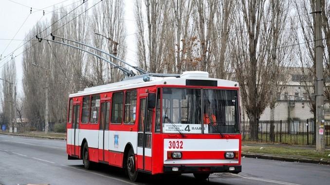 Николаев, электротранс, маршрутки, Евтушенко