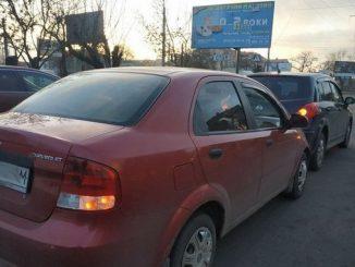 Николаев, шевроле, ниссан, ДТП, полиция