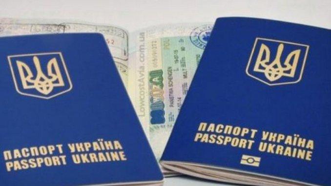 Украина, паспорт, граница