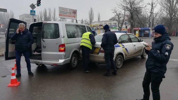 Николаев, ДТП, Богоявленский, Театральная, полиция