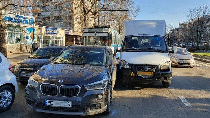 Николаев, полиция, ДТП, БМВ