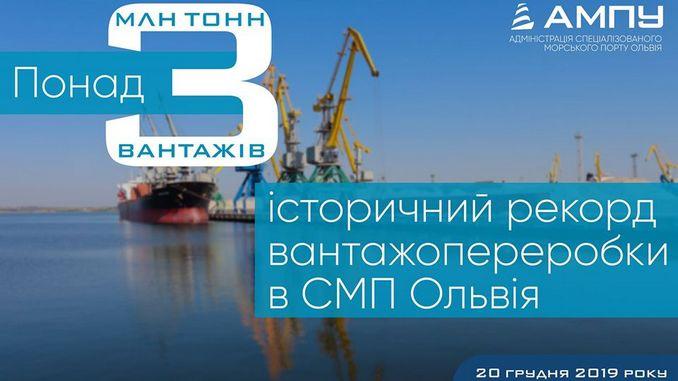 Николаев, спецморпорт, Ольвия, груз, порт