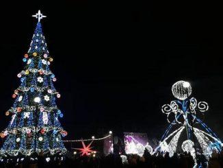 Николаев, Новый Год, Елка, праздник