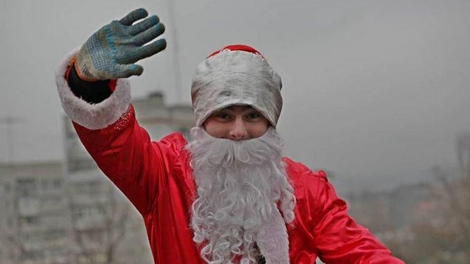 Николаев, больницы, областная, городская, Деды Морозы, альпинисты