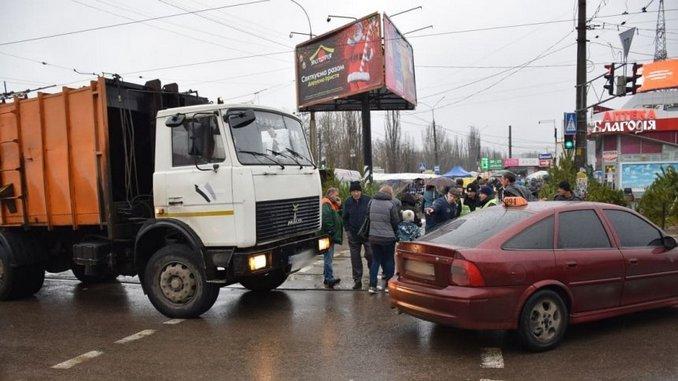 Николаев, полиция, ДТП, Колос
