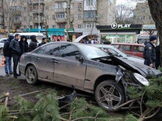 Николаев, полиция, ДТП, Мерседес, ВАЗ, Богоявленский