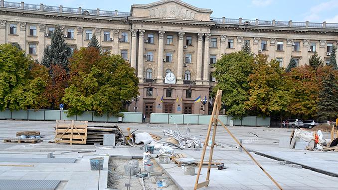Реконструкция Соборной площади