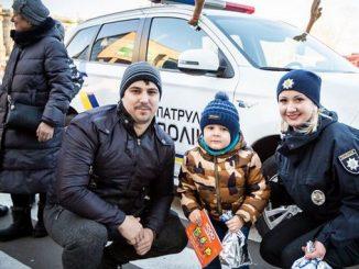 Николаев, Полиция, патрульные, Рождество, Соборная, Адмиральская