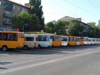 Николаев, маршрутки, такси, транспорт, конечные, остановки