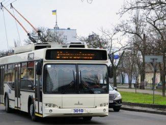 Николаев, троллейбус, Северный, ДТП, провода, электротранс