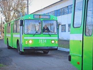 Троллейбус после капитального ремонта