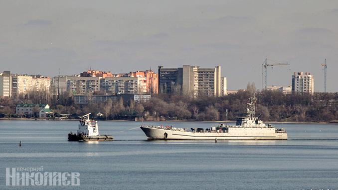 Десантный корабль Юрий Олефиренко