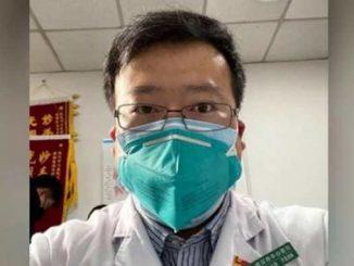 Ли Веньлянь, коронавирус