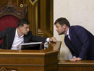 Андрей Богдан, Владимир Зеленский