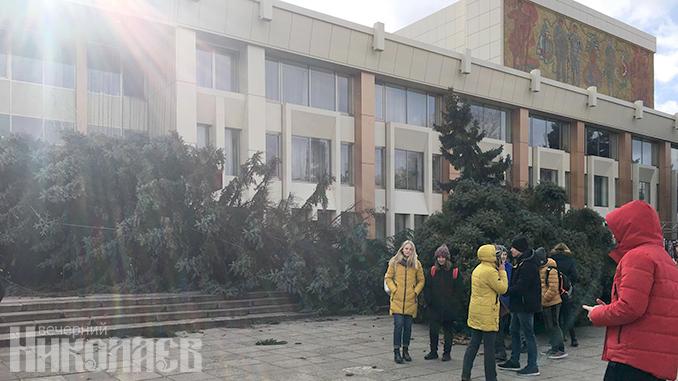 ОДК, деревопад, ветер в Николаеве, погода в Николаеве
