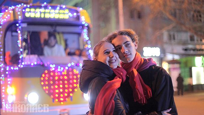 Трамвайчик влюбленных, День святого Валентина