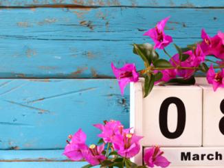 8 марта, Международный женский день, выходные в марте 2020 в Украине