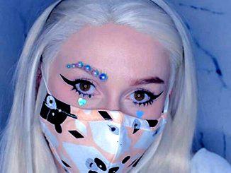Макияж под медицинскую маску, макияж коронавирус, Makeup Corona