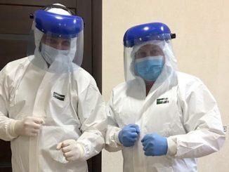 Коронавирус в Николаеве, городская больница №5, защитные костюмы от коронавируса, средства индивидуальной защиты