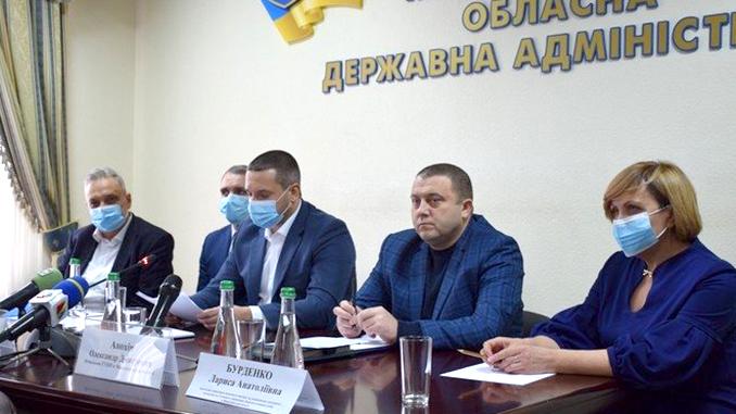 Пресс-конференция по коронавирусу, Николаев, Николаевская ОГА, Сенкевич, Стадник, коорнавирус, карантин