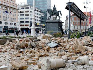 Загреб, Хорватия, землетрясение в Хорватии