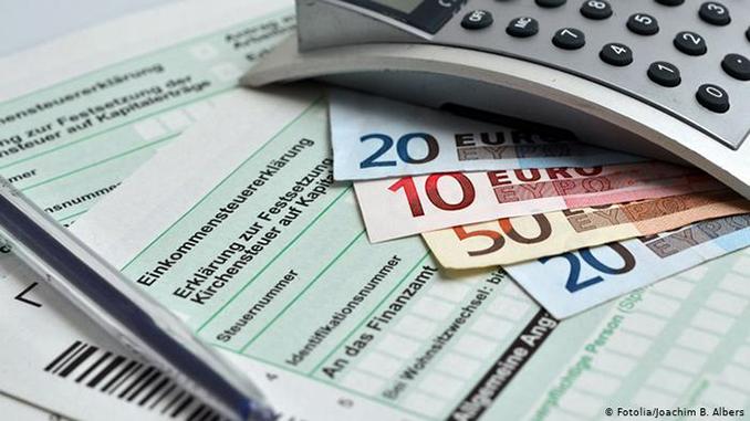 Налоговая служба, налоги