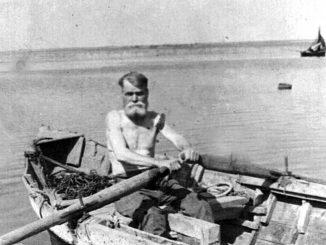 Гроза и его лодка