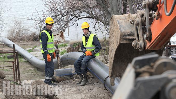 День города, Сенкевич, Пасечный, дюкер, водопровод в Варваровку, в Варваровку, новости, вода,