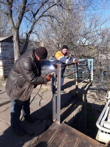 ЭЛУ Автодорог, ремонт моста, пешеходный понтонный мост через Ингул в Николаеве