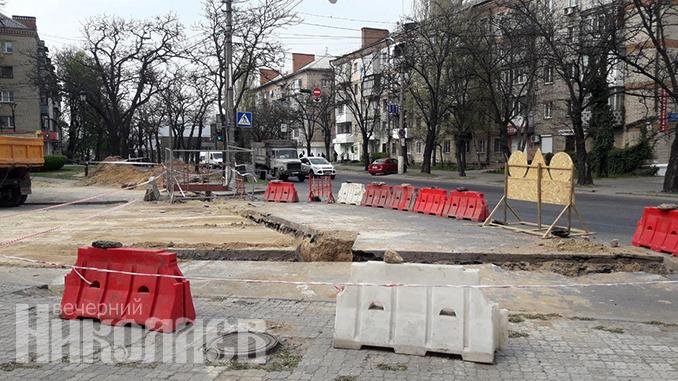 Водопровод в Варваровку, дюкер, Варваровский мост, Никольская