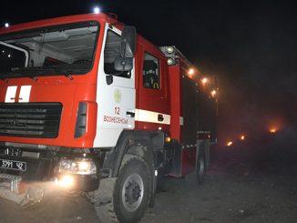 Пожарная машина, пожар, ГСЧС, пожарные, штраф за поджог травы