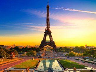 Париж, Эйфелева башня, Елисейские поля, Франция