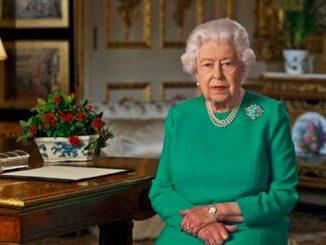Королева, Елизавета II, Великобритания, Соединенное Королевство, обращение к нации