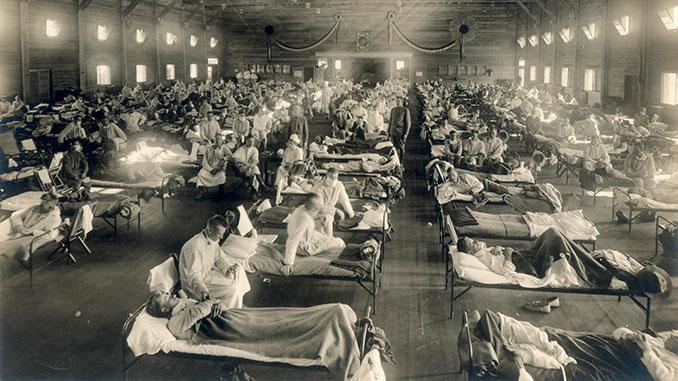 испанка, грипп, пандемия, США, Испания, Европа, Аполлинер, история, Америка, вирус, здоровье,