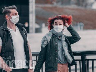 Карантин в Николаеве, коронавирус, маска (с) Фото - Александр Сайковский, ВН
