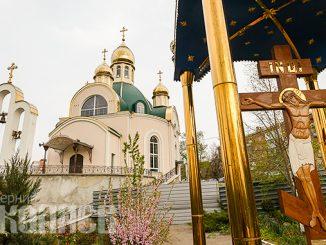 Пасха, церковь, православный храм в Николаеве, коронавирус в Николаеве, карантин (с) Фото - Александр Сайковский, ВН