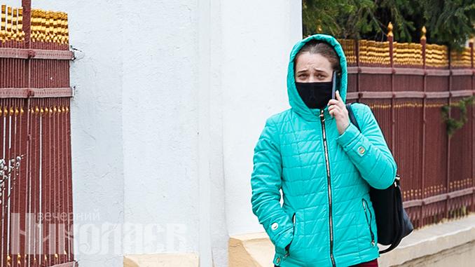 Маска, Пасха, коронавирус в Николаеве, карантин (с) Фото - Александр Сайковский, ВН
