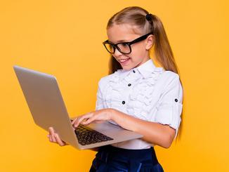 Дистанционное обучение онлайн, школа, ребенок, дети, школьники, ЗНО, библиотека