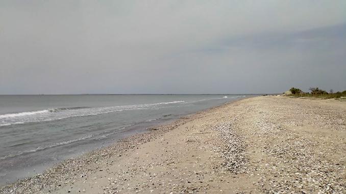 Кинбурнская коса, Николаев, море, пляж