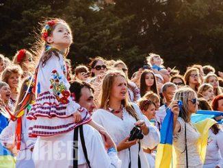 День вышиванки в Николаеве, марш вышиванок