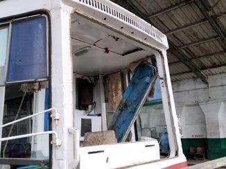 Разбитый трамвай, драка в трамвае, Николаев, происшествия