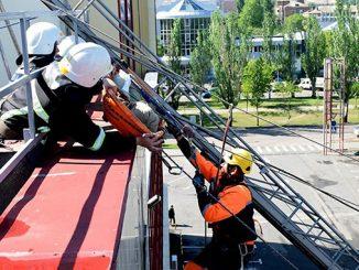 Сити-Центр в Николаеве, CityCenter, пожарные, спасатели, ГСЧС