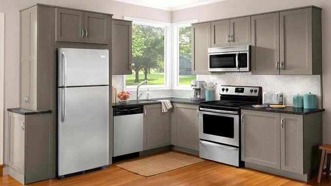 Холодильник, кухня, интерьер, дом